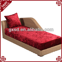 News styles UV rattan durable settee