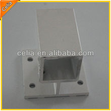 40x20mm, 40x40mm, 45x45mm Aluminium Side Base for Fence and Railing