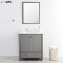 Modern European Bathroom Vanity Cabinetry