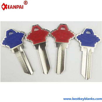 D395 Replacement Custom designer Colour House Key Blanks SC1 Ten Colours Suppliers