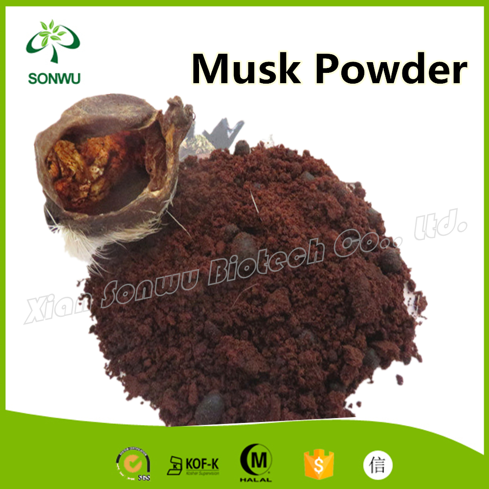Supply Musk deer extract / musk powder musk perfume
