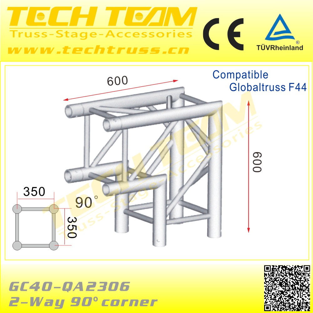 Concert Stage Barrup Truss For Display Exhibition