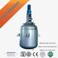 Industrial stainless steel polymerization reaction kettle vessel with good price