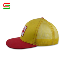 factory price flat bill snapback mesh baseball cap