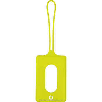 Silicone luggage tag, silica gel bags, silicone information card