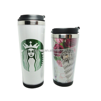 stainless steel thermos tumbler