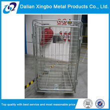 Cargo heavy duty steel industrial foldable trolley cart
