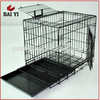 Aluminum Dog Crate And Stainless Steel Dog Kennels With Plastic Tray