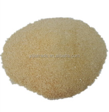 Gelatin bulk 220 bloom for confectionery made of cattle skin well quality control