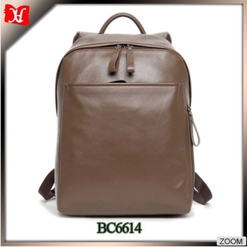rucksack fashion leather rucksack designer genuine leather backpack for college student