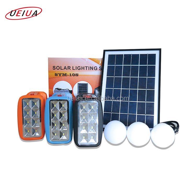 Mini Solar Power System Home , Portable Solar Energy Lighting Kit