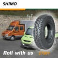 SHIMO ST901 wear-resisting chinese radial truck tire 12.00R24