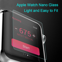 2018 Newest Smart Watches Protective Film 9H Nano Flexible Tempered Glass Screen Protector For Apple Watch 38mm / 42mm