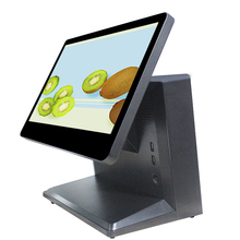 Desktop type 10 point capacitive touch 15.6 inch all in one POS PC for retail
