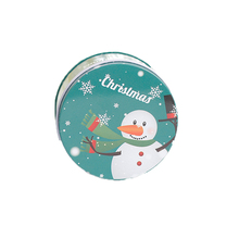 wedding favors cookie tin box christmas gift tin can round candy box