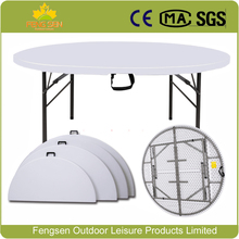 dining table Best quality Outdoor plastic folding table round folding table for banquet party