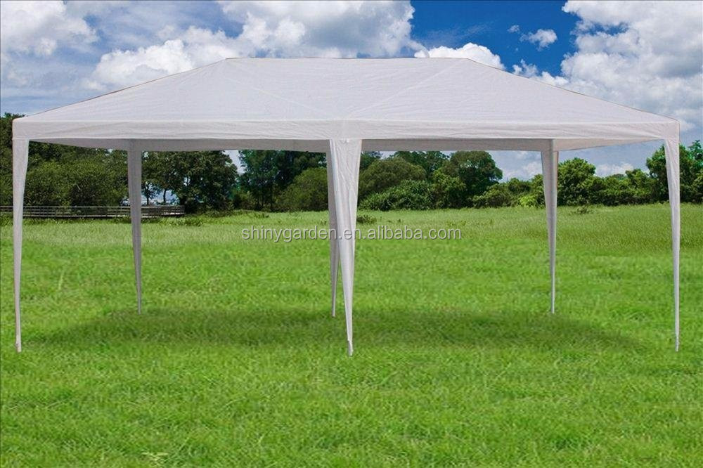 10'x20' Outdoor Party Wedding Tent Garden Gazebo Canopy Pavilion Cater Events