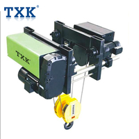 Good quality 3 Phase 5 Tons Low Headroom Motorized Trolley Electric Steel Wire Rope Motor Lifting hoist with factory price
