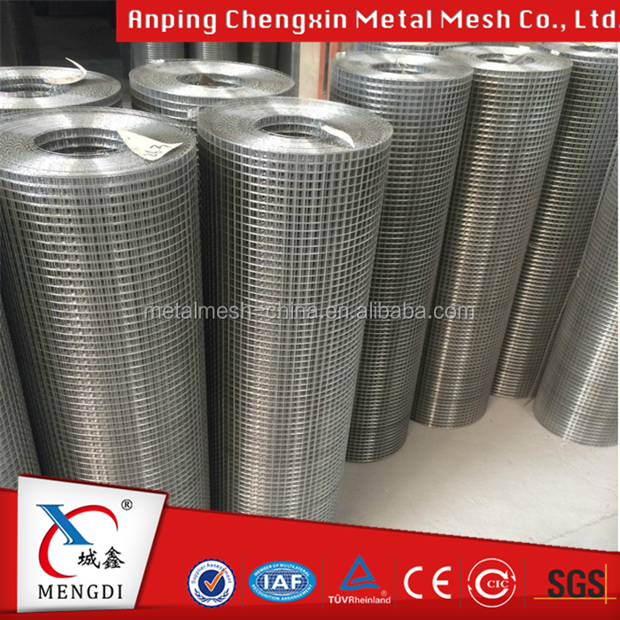 "Hot Dipped Galvanized Welded Wire Mesh, 1/2"" Mesh Hole, 18,20 & 22 Gauge Wire , 48 Inch Tall x 50ft Long"
