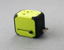New Universal Power Adapter Electric Converter US/AU/UK/EU Plug 2.1A Dual USB Chargering