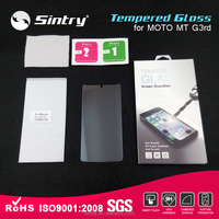 Factory supply screen guard tempered glass 5.0'inch 0.2MM tempered glass screen protector for MOTO MT G3rd