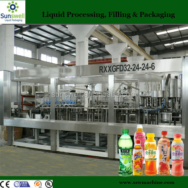 Small bottle ice tea drinks making machinery
