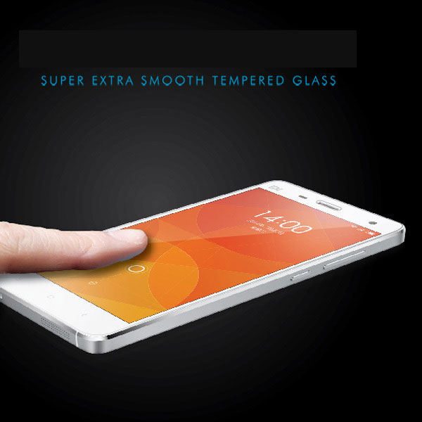 Mobile phone accessories China manufacture tempered glass screen protector for xiaomi mi4