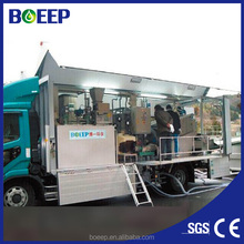 Mobile package/small integrated wastewater/sewage/waste water treatment