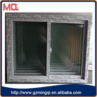 factory cheap price plastic window panel,sliding window for house