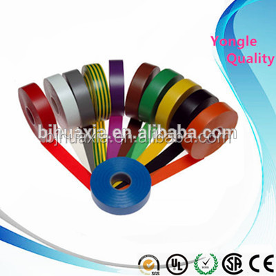 Single sided Adhesive and electrical PVC electrical flame retardant double sided tape assorted colours