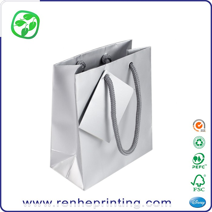 Wholesale Stamping Logo Paper Shopping Bag/Gift Bag,Custom Paper Bag for sale