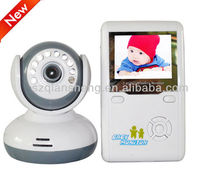 2.4GHZ Digital Wireless video baby monitor with LCD display