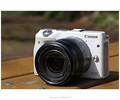 Genuine Canon EOS M3 White Digital Camera Body and EF-M 18-55mm Lens