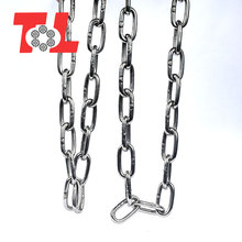 Manufactures wholesale long galvanized steel link chain