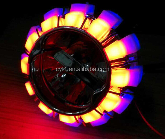 Best price Angel eye K14 Led Projector light for motorcycle headlight