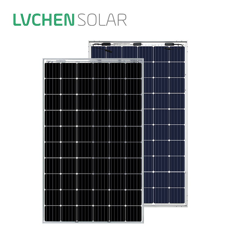 Lvchensolar double glass bifacial PERC mono crystalline solar cells 295w 300w solar <strong>panel</strong> with best price