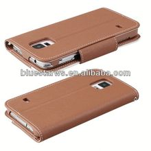 cross wallet leather case for samsung i9600 for galaxy s5 leather case