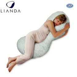 Thai triangle pillow,firm cotton material pregnancy pillow,new design pregnancy pillows