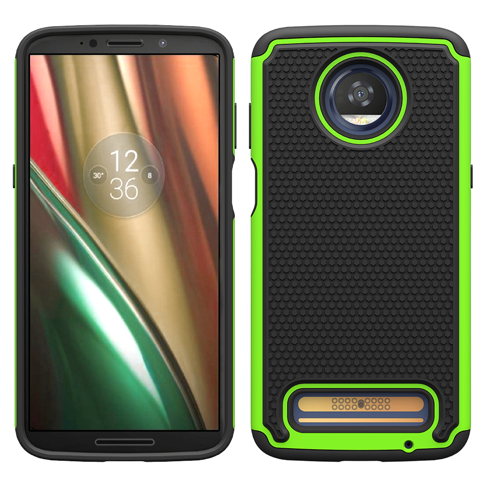 Popular selling football case for Moto Z3 play TPU shockproof cover case