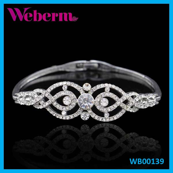 Jewelry Tennis New Popular Bracelets Silver Bangle With Diamonds