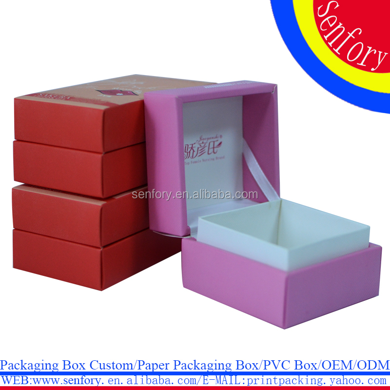 Skin Care Products Packaging Box Flip Gift Paper Box For Sale