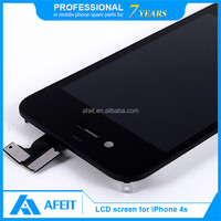 Lcd screen parts for iphone 4s color screen black and white
