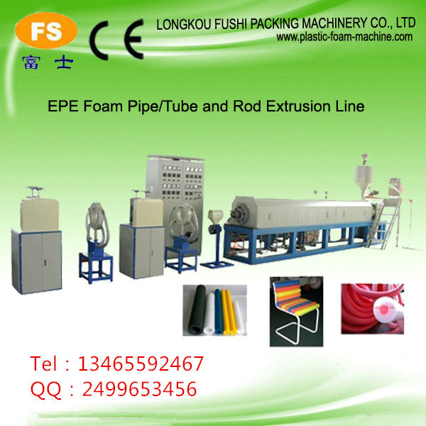 factory directly sell best selling blood test PE FoamRod Extrusion Line