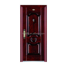 safety and elegant exterior anti theft steel doors