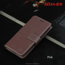 Wholesale personalised custom luxury latest cell phone accessories leather phone case wallet for samsung S8 s8+