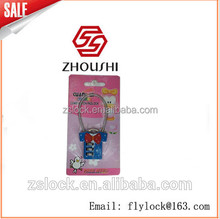 ZHOUSHI lock fashion lovely Newest Colorful Combination Digital Password Padlock Outdoor Combination padlock with master key