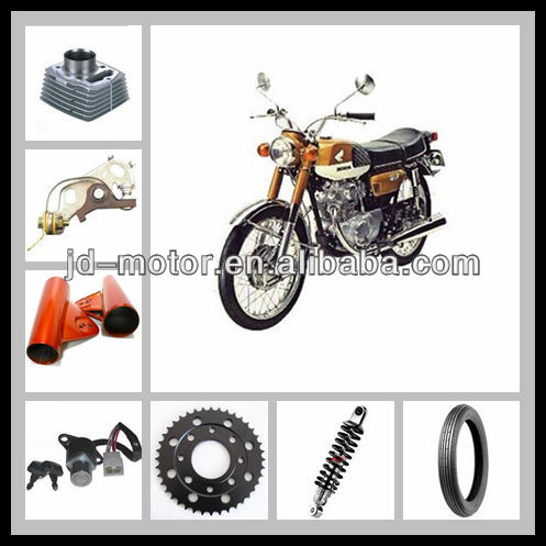 CB 125 motorcycle parts