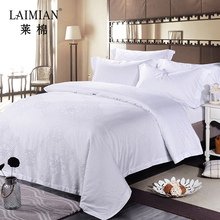 Factory price bedding sets luxury jacquard brand name bed sheet in guangzhou