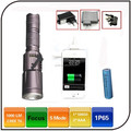 zoom 3.7v Rechargeable Battery Usb Port Cree xml T6 Led Survival Flashlight