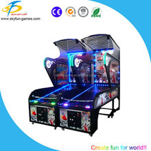 2016 China basketball arcade game machine / electronic basketball scoring machine skyfun